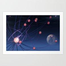 Celestial Hydra Art Print