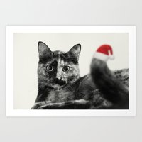 merry christmas Art Prints featuring Merry Christmas! by SensualPatterns