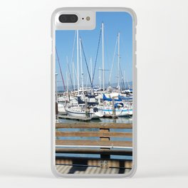 """Fisherman's Wharf"" Clear iPhone Case"
