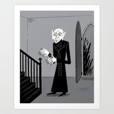 The Halloween Series - Nosferatu Art Print