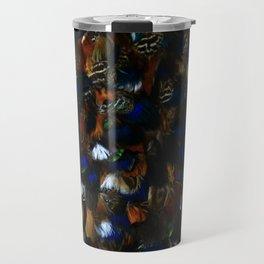 Colourful Feather Cloak Travel Mug