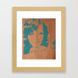 A Smile Collection Framed Art Print