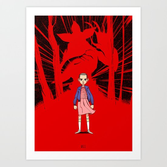 Eleven Art Print