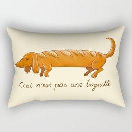 This is not a baguette Rectangular Pillow