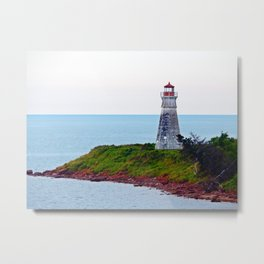 Lighthouse Cape Jourimain N-B Metal Print