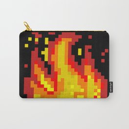 Pixel fire Carry-All Pouch