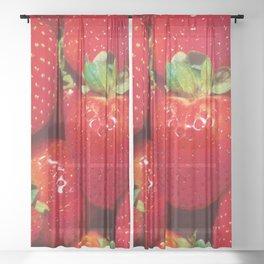 Berries Sheer Curtain