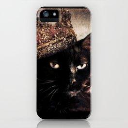 Black Cat - Queen Cora iPhone Case