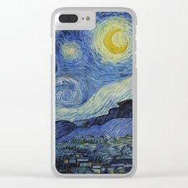 The Starry Night Clear iPhone Case