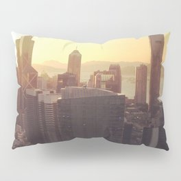 hong kong sundown Pillow Sham