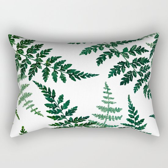 Botanical Bliss #society6 #decor #buyart Rectangular Pillow
