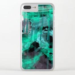 DribbleWibble Clear iPhone Case