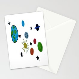 Space Patric Stationery Cards