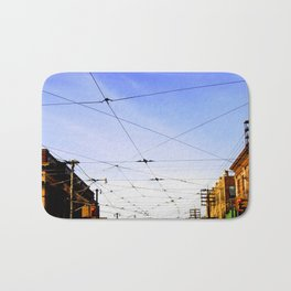Queen Street Grid Bath Mat
