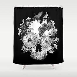 Pretty Dark Shower Curtain