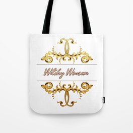 Witchy Woman - A Decorative Print Tote Bag