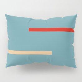 Abstract Retro Stripes Miranda Pillow Sham