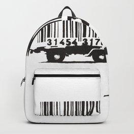 Banksy Animal Rights Artwork, Jaguar Tiger Barcode Prints, Posters, Bags, Tshirts, Men, Women, Youth Backpack