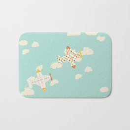 Flying By Bath Mat