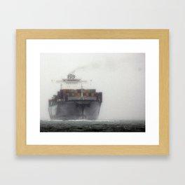 Rough Ride Framed Art Print