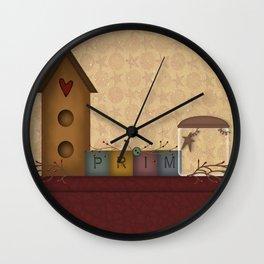 Primitives Wall Clock