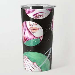 Asteroids Travel Mug