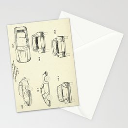 Automobile Porsche-1964 Stationery Cards
