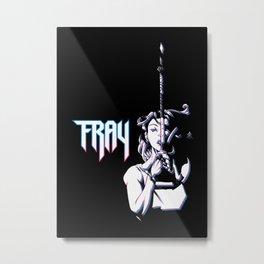 Fray the Lurk Slayer Metal Print