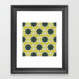 Weird Squares Framed Art Print