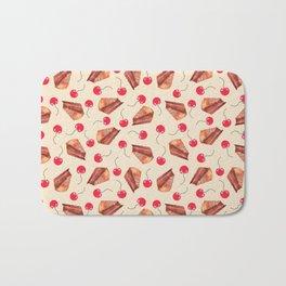 cherries & cakes-cornsilk Bath Mat