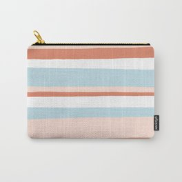 mesa, desert pastel stripes Carry-All Pouch