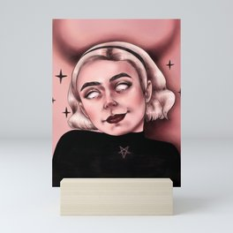 satan's daughter Mini Art Print