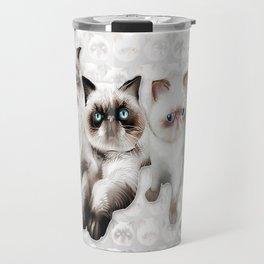 Studley Cats Travel Mug