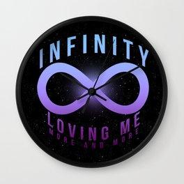 Infinity // Mariah Wall Clock