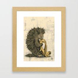 Yellow Bunny Framed Art Print