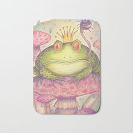 The Frog Prince Bath Mat