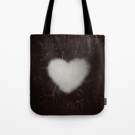 Handle with care b/n Tote Bag