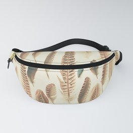 Found Feathers Fanny Pack