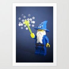 A little bit of magic  Art Print