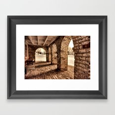 A Place of Rest Framed Art Print