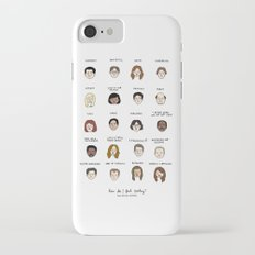 The Office Mood Chart Slim Case iPhone 7