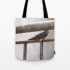 One Swallow Doesn't Make a Summer Tote Bag