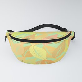 Autumn leaves pattern Fanny Pack