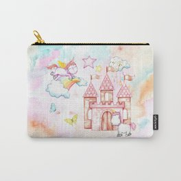 Unicorn Avalon Island Carry-All Pouch