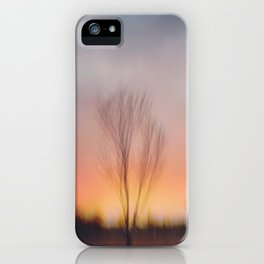 Sunset at Lake of the Isles iPhone Case