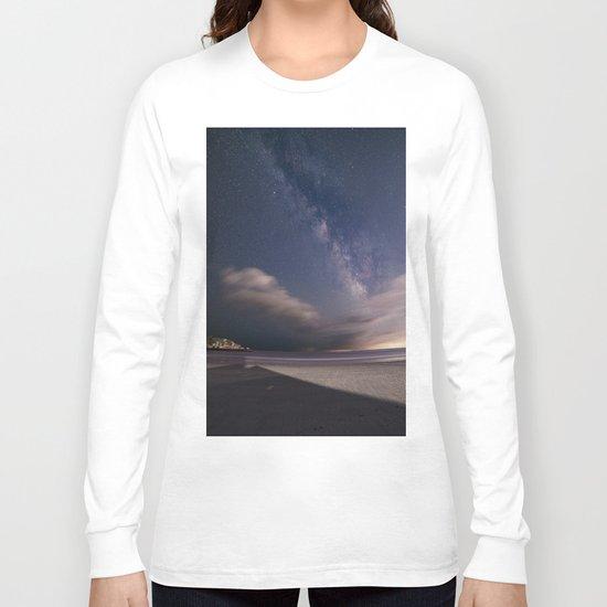 Milkyway at Good Harbor Beach Long Sleeve T-shirt