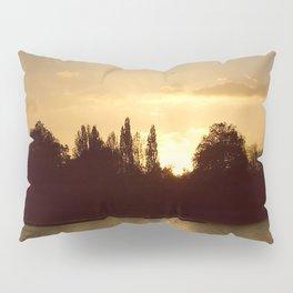 sunset on the river Pillow Sham