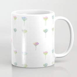 Watercolor Daisy Pattern Coffee Mug