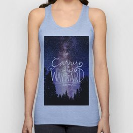 supernatural carry on my wayward son Unisex Tank Top