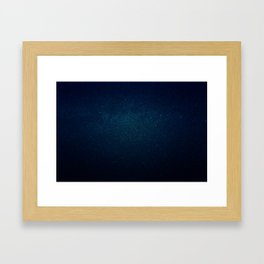 It's Full of Stars Framed Art Print